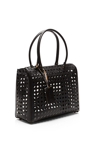 Laser Cut Leather Tote by MARNI Now Available on Moda Operandi
