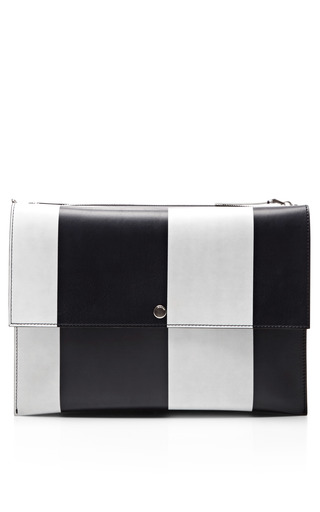 Bandoleer Leather Shoulder Bag by MARNI Now Available on Moda Operandi