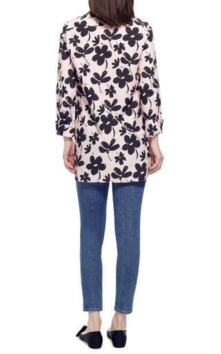 Floral Print Cotton Poplin Blouse by MARNI Now Available on Moda Operandi
