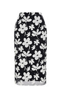 Floral Print Gauze Skirt by MARNI Now Available on Moda Operandi