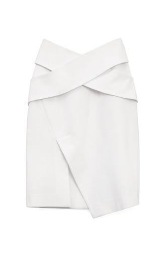 Medium josh goot white bandage wrap cut away skirt