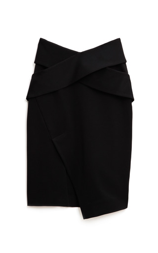 Medium josh goot black bandage wrap cut away skirt 2