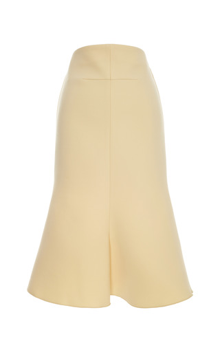 Medium ellery yellow pagoda tulip skirt