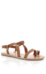 Distressed Leather Sandals by ANCIENT GREEK SANDALS Now Available on Moda Operandi