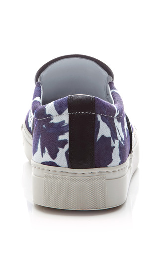 Printed Slip On Canvas Sneakers by MOTHER OF PEARL Now Available on Moda Operandi