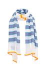 Bara Striped Gauze Scarf by LEMLEM Now Available on Moda Operandi