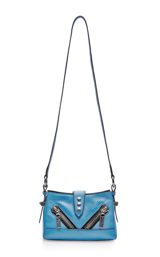 Medium kenzo blue small kalifornia leather shoulder bag