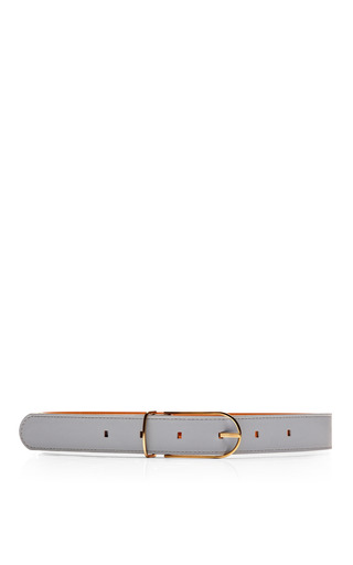 Medium maison boinet blue thin leather belt