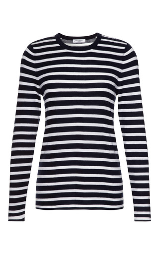 Tatum Ribbed Cotton Blend Sweater by EQUIPMENT Now Available on Moda Operandi