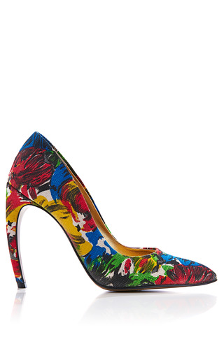 Medium walter steiger print printed canvas pumps