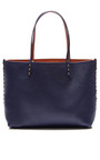 Small Rockstud Reversible Leather Tote by VALENTINO Now Available on Moda Operandi