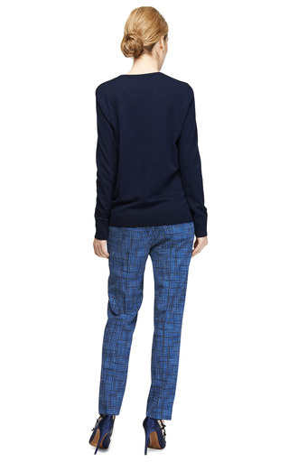 Roland Silk Front Wool Sweater by EQUIPMENT Now Available on Moda Operandi