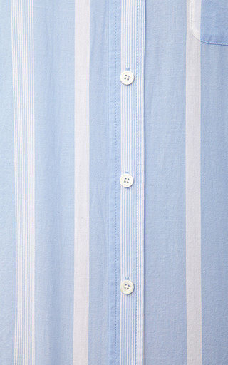 Margaux Striped Cotton Shirt by EQUIPMENT Now Available on Moda Operandi