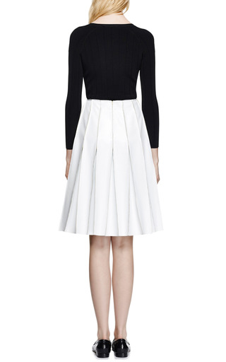 Reverse Seam Faux Leather Skirt by J.W. ANDERSON Now Available on Moda Operandi