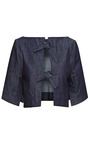 Cropped Denim Bolero Jacket by J.W. ANDERSON Now Available on Moda Operandi