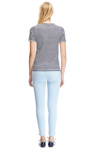 Striped Cotton Blend T Shirt by HARVEY FAIRCLOTH Now Available on Moda Operandi