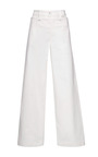 Wide Leg Denim Sailor Pants by HARVEY FAIRCLOTH Now Available on Moda Operandi