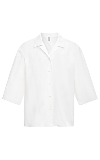 Cotton Poplin Shirt by ROSIE ASSOULIN Now Available on Moda Operandi