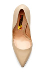 Elba Leather Pumps by RUPERT SANDERSON Now Available on Moda Operandi