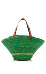 Wide Bream Straw Tote by MUUN Now Available on Moda Operandi