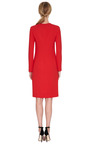 Seam Detailed Cady Dress by CALVIN KLEIN COLLECTION Now Available on Moda Operandi