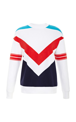 Printed Cotton And Jersey Sweatshirt by ÊTRE CéCILE Now Available on Moda Operandi