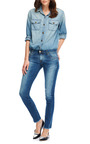 Cotton Denim Shirt by CURRENT/ELLIOTT Now Available on Moda Operandi