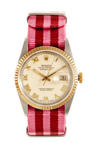 Medium vintage rolex watches pink 1990 rolex stainless steel and gold oyster perpetual datejust