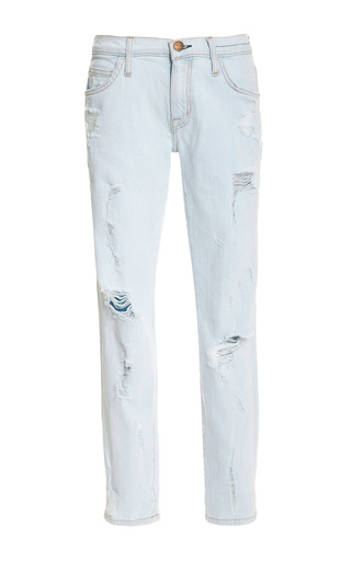 Medium current elliott blue the fling distressed denim jeans