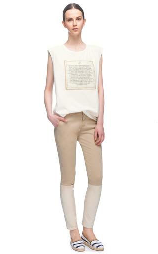 Striped Cotton Espadrilles by ESCADRILLE Now Available on Moda Operandi