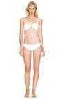 White Soho Bikini Bottom by MARYSIA SWIM for Preorder on Moda Operandi