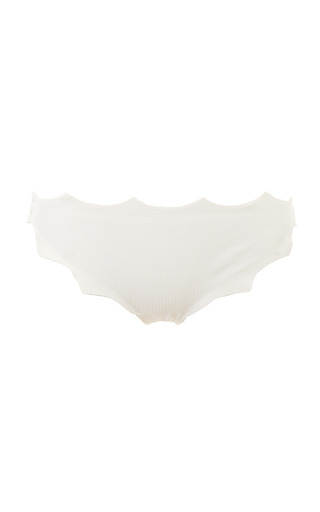 Medium marysia swim white white soho bikini bottom