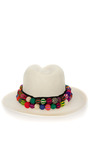 Double Band Panama Hat by VALDEZ PANAMA HATS for Preorder on Moda Operandi