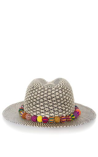 Star Single Band Panama Hat by VALDEZ PANAMA HATS for Preorder on Moda Operandi