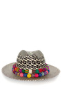 X Double Band Panama Hat by VALDEZ PANAMA HATS for Preorder on Moda Operandi