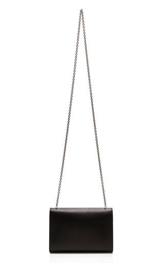 Miss Vara Bow Clip Clutch With Chain Handle by SALVATORE FERRAGAMO Now Available on Moda Operandi
