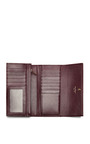 Long Leather Wallet With Bow Detail by SALVATORE FERRAGAMO Now Available on Moda Operandi