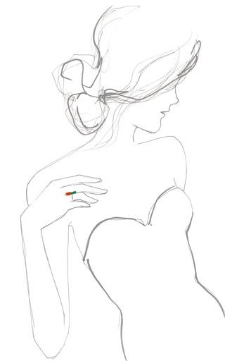 Three Carrot Ring by M DE PHOCAS for Preorder on Moda Operandi