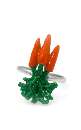 Medium m de phocas orange three carrot ring