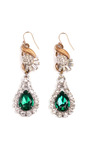 100 Year Collection One Of A Kind Crystal Drop Earrings by LULU FROST Now Available on Moda Operandi