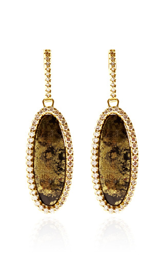 One Of A Kind Apache Gold And Diamond Earrings by KIMBERLY MCDONALD for Preorder on Moda Operandi