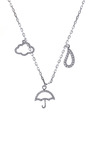 Cloudy With A Chance Of Rain Necklace by KHAI KHAI for Preorder on Moda Operandi