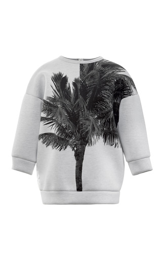 Medium no 21 white fern sweatshirt