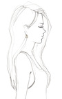 Small Petra Open Mosaic Earrings by KARA ROSS for Preorder on Moda Operandi