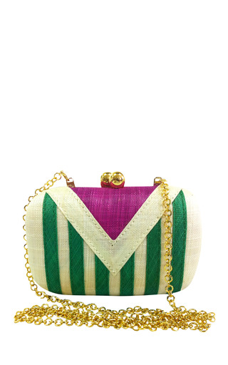 Medium serpui marie green sally green minaudiere in straw