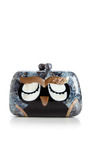 Owl Minaudiere In Mother Of Pearl by SERPUI for Preorder on Moda Operandi