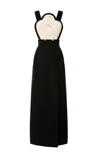 Medium delpozo multi embellished bib dress