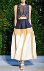 Tri Tone Full Skirt by DELPOZO for Preorder on Moda Operandi