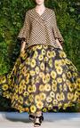 Sunflower Full Skirt by DELPOZO for Preorder on Moda Operandi