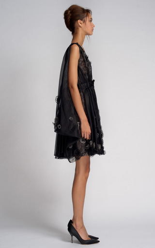 Embroidered Organza Dress by NINA RICCI for Preorder on Moda Operandi